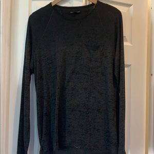 (Medium) JOHN VARVATOS black->gray tee